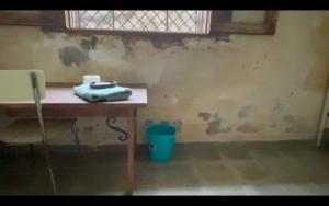 Eine Zelle auf Casa Amalie von Stein zur Langzeiterziehung der Sklaven!